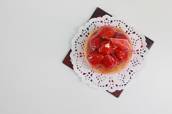 法式杏仁草莓塔 Tarte aux Fraises 2